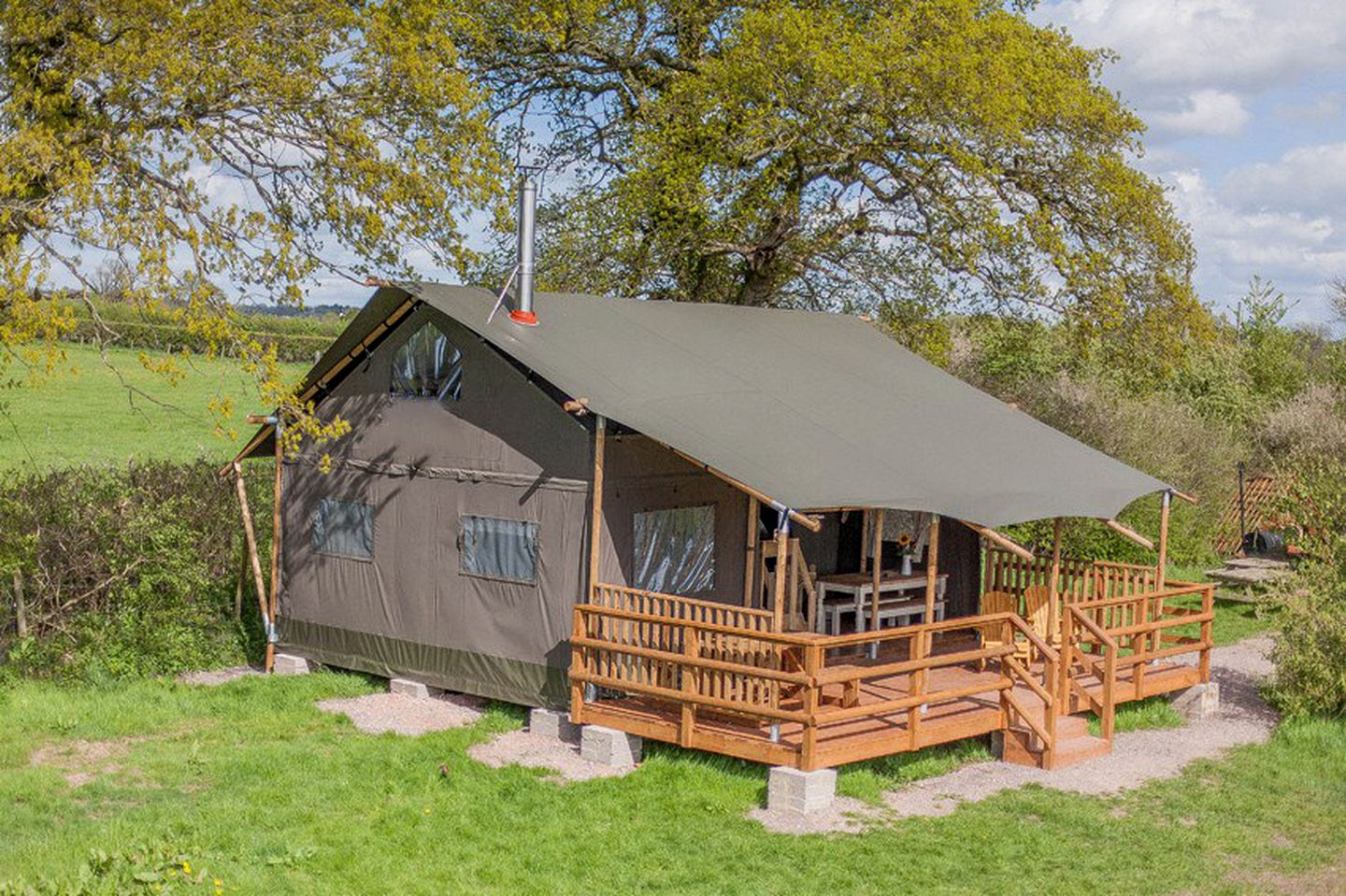 Safari Tents (Wiltshire, England, United Kingdom)