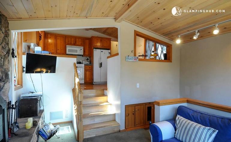 Woodland Cabin Near Big Bear California