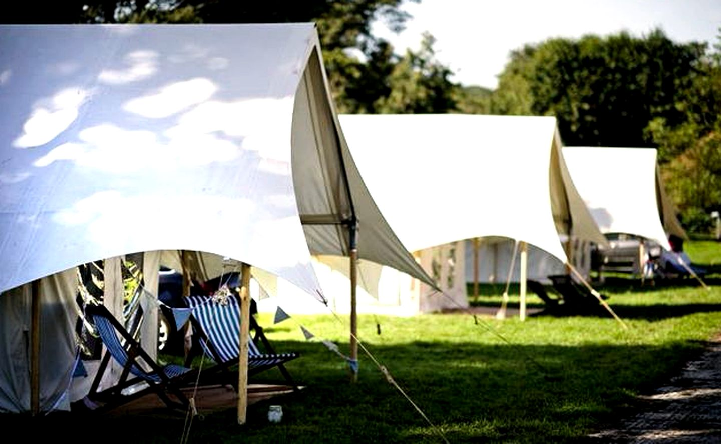 Safari Tents (Glastonbury, England, United Kingdom)