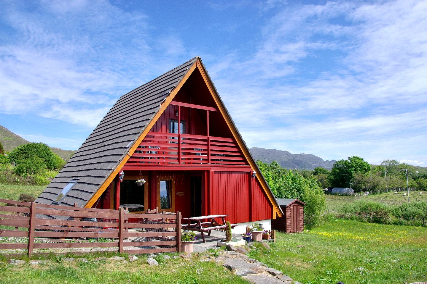 A-Frame Cabins (Kilchoan, Scotland, United Kingdom)