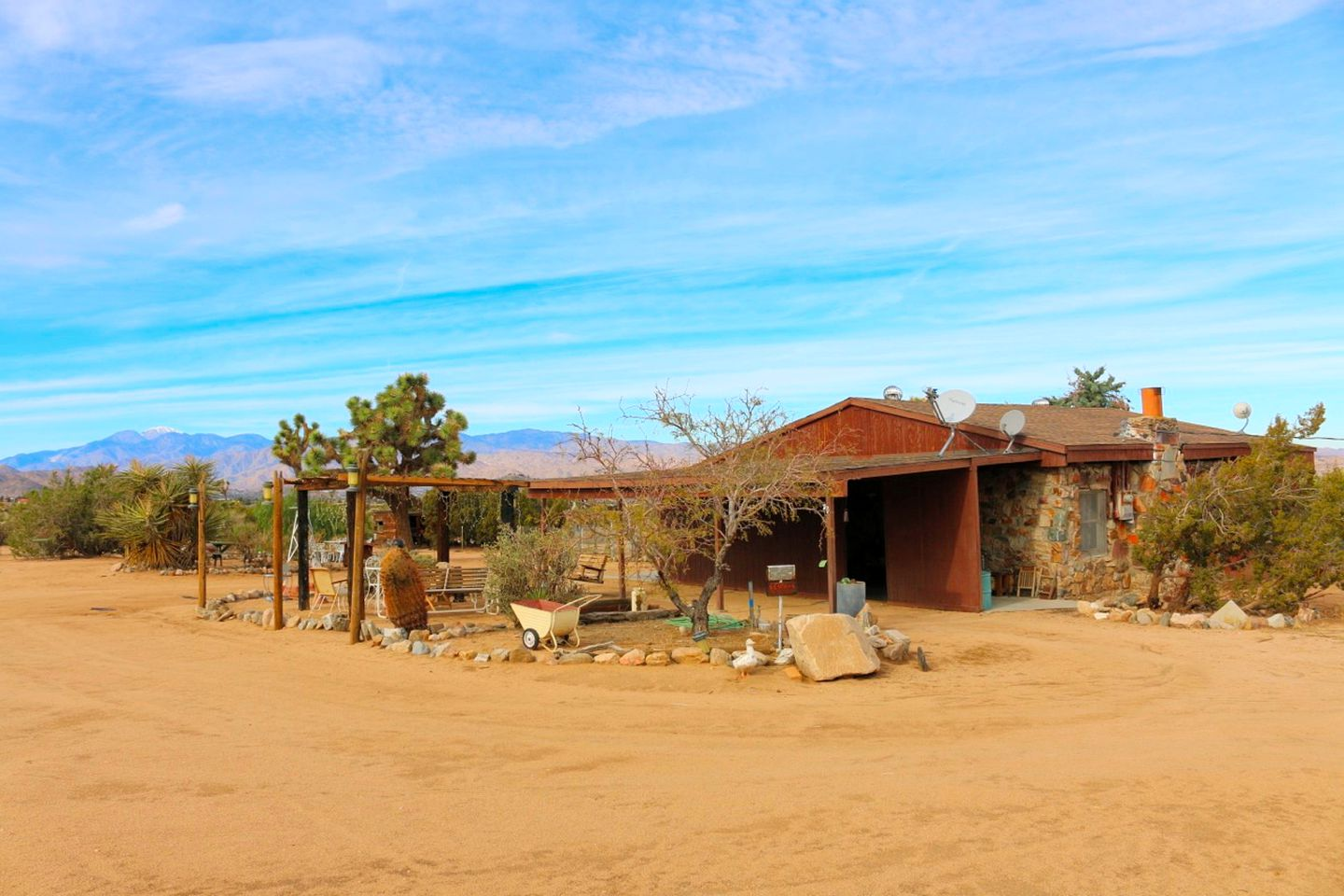 Casas de campo (Yucca Valley, California, Estados Unidos)