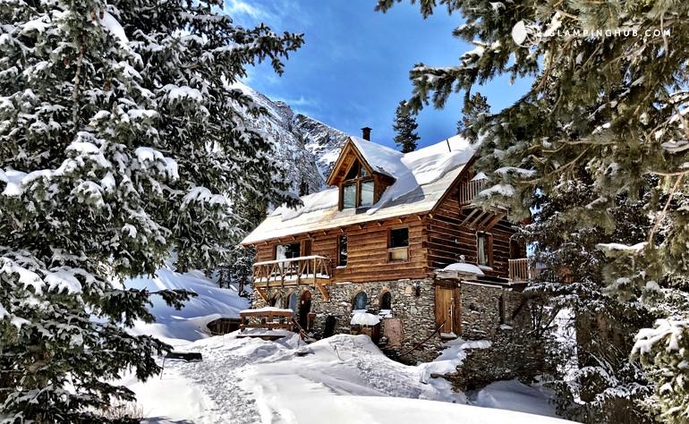 Stunning colorado cabin rental near telluride colorado for Mountain cabin rental colorado
