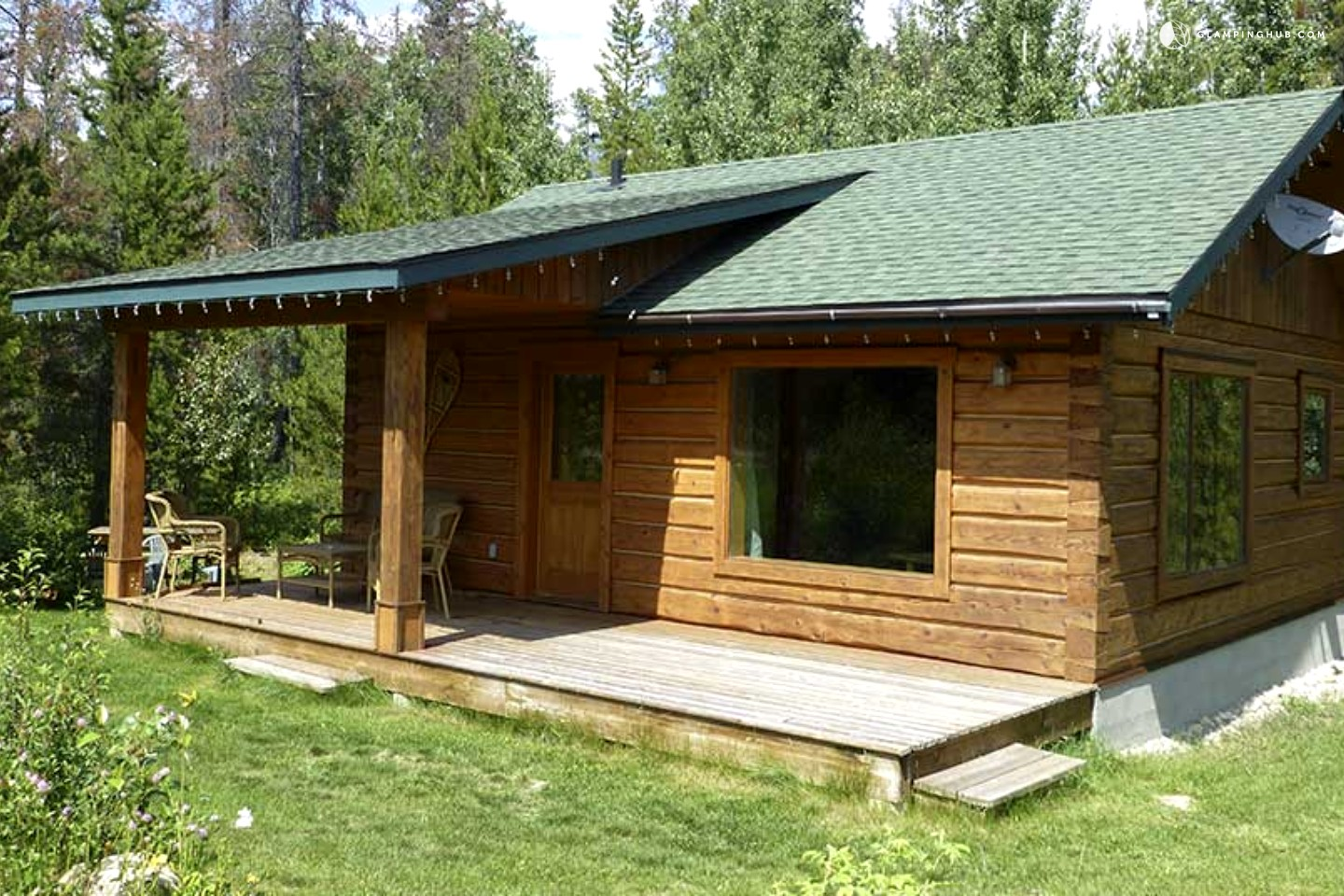 Log Cabin Rental In British Columbia Luxury Camping In