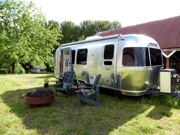 Airstream Camping in Oregon