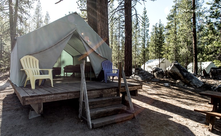 & Pet-Friendly Tent Cabins in California