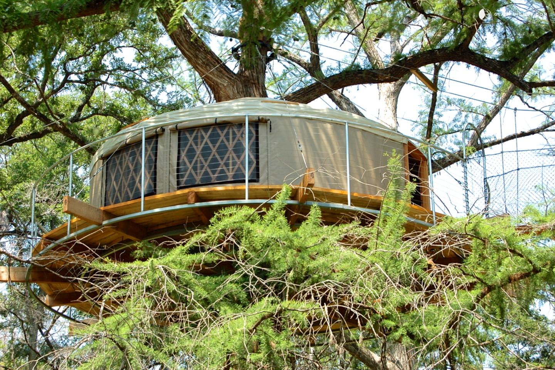 Tree House Near Austin Texas