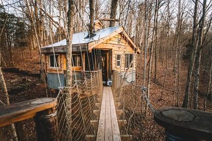 Superb Treehouse Rentals Kentucky Treehouse Vacation Download Free Architecture Designs Scobabritishbridgeorg