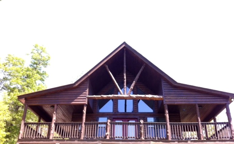 Cabin rental along white river arkansas for White river cabin rentals arkansas