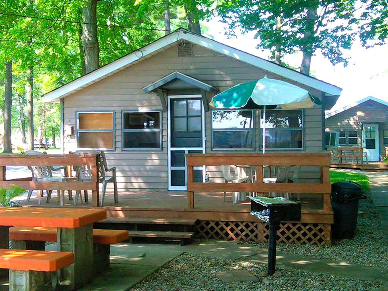 Group Cabin on Lake Shafer, Indiana
