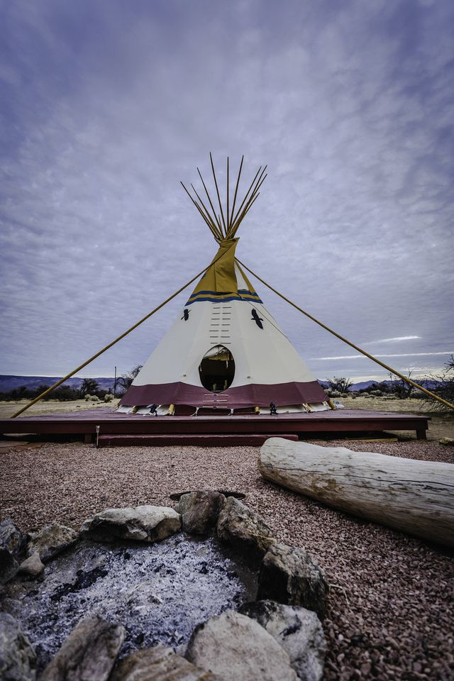 Tipis (Sandy Valley, Nevada, Estados Unidos)