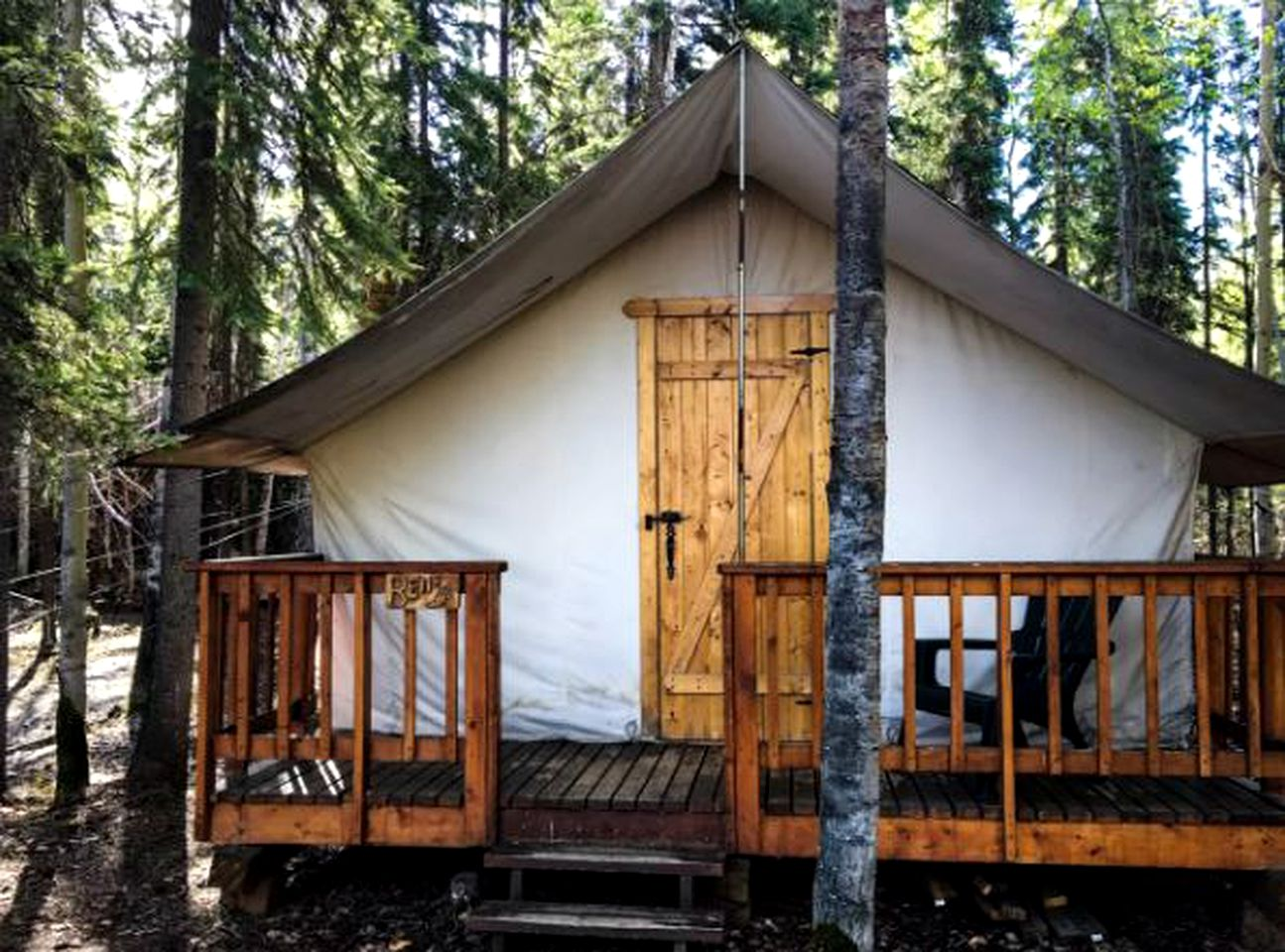 Tented Cabins (Fairbanks, Alaska, United States)