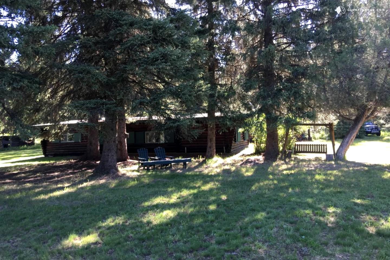 cabin rental near swan lake montana