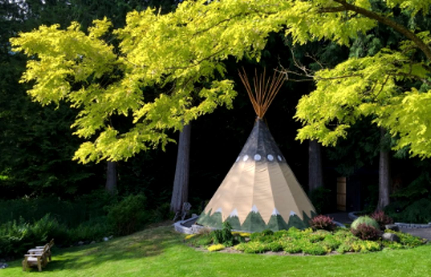 Tipis (Bainbridge Island, Washington, United States)