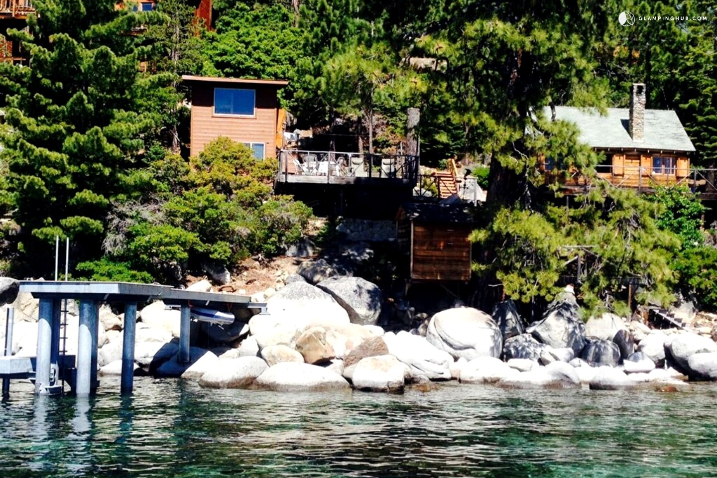 Log cabin for rent on meeks bay lake tahoe Rent a cabin in lake tahoe ca