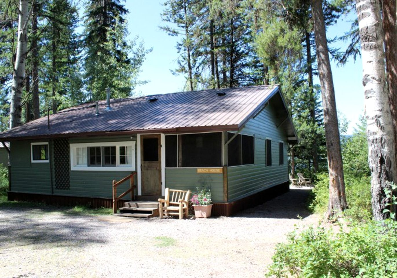 Cabins (Seeley Lake, Montana, United States)