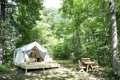 Luxury Camping in New Jersey | Glamping Hub