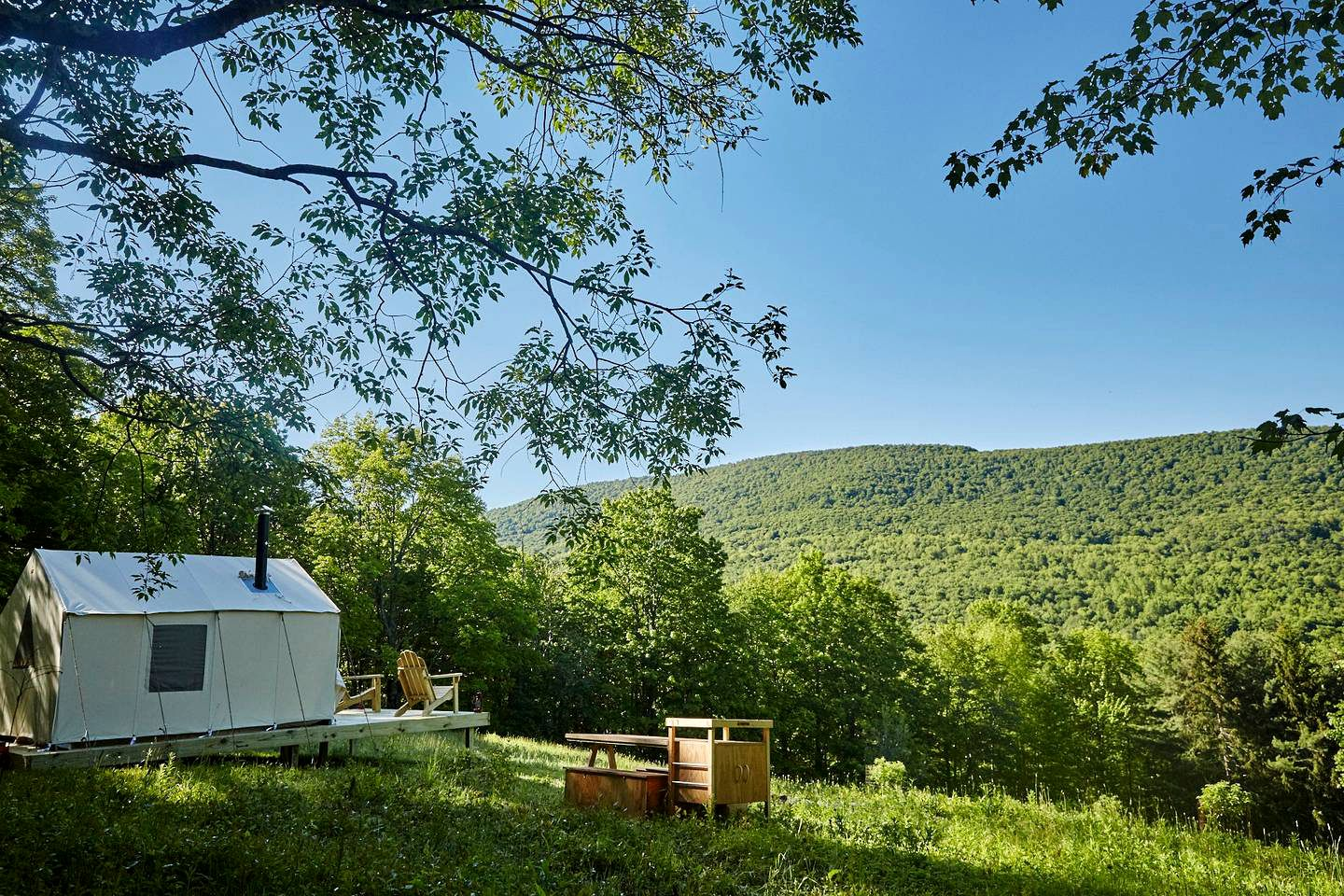 Tented Cabins (Roxbury, New York, United States)