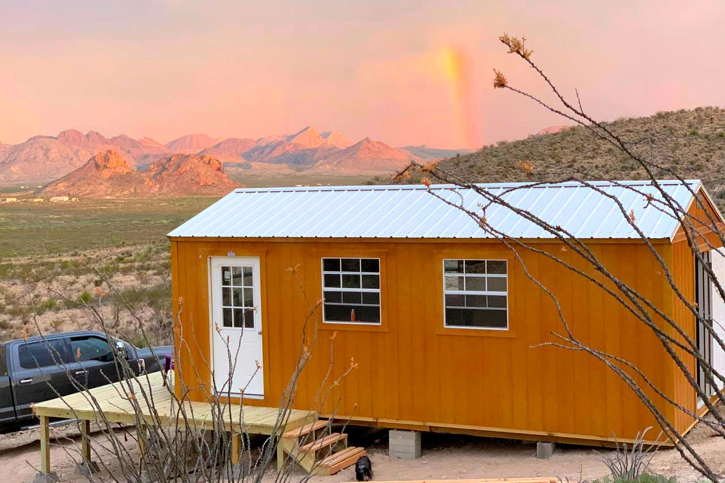 Beautiful and rustic Terlingua accommodation for the best Big Bend getaway.