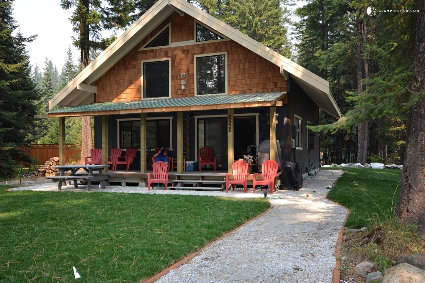 Pet friendly cabin near leavenworth for Leavenworth cabin rentals