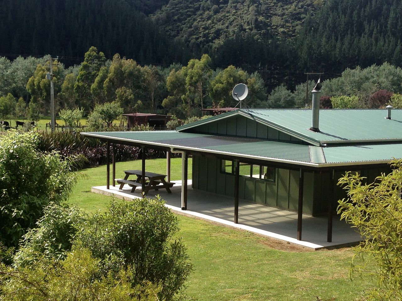 Cabins (Opotiki, North Island, New Zealand)