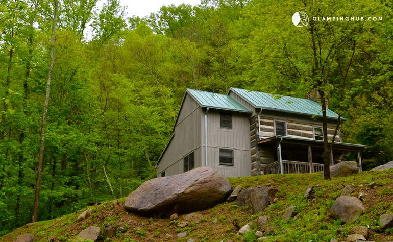 cabin rental for groups near richmond virginia
