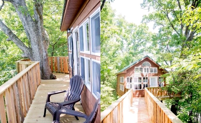 Tree House Bed And Breakfast Missouri
