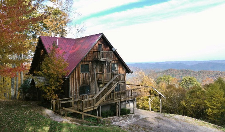 Secluded Cabin Rental With Hot Tub On Cranberry Mountain In West Virginia