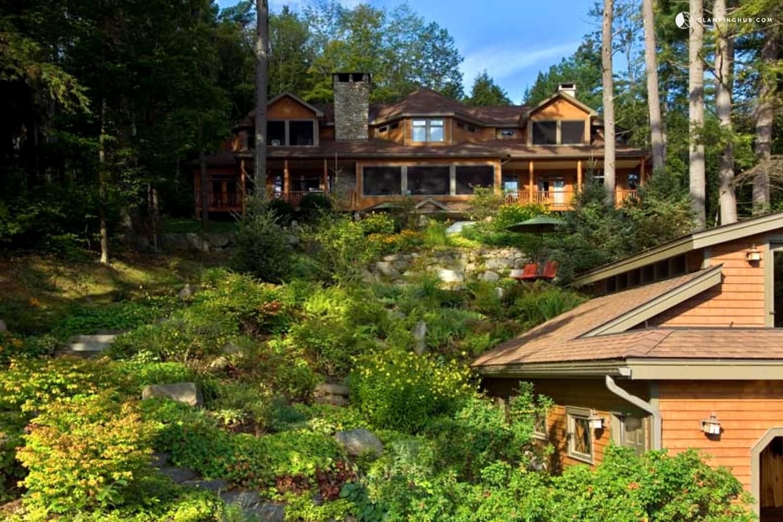 Luxury Lodge With Jacuzzi And Hot Tub Adirondack New York