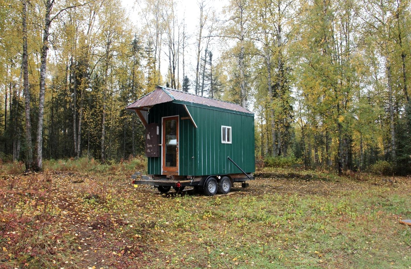 One-of-a-Kind Tiny House Rental on a Sustainable Permaculture Farm in  Talkeetna, Alaska