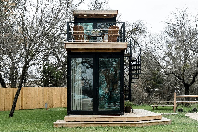 Tiny House Rental Waco Texas Glamping Hub