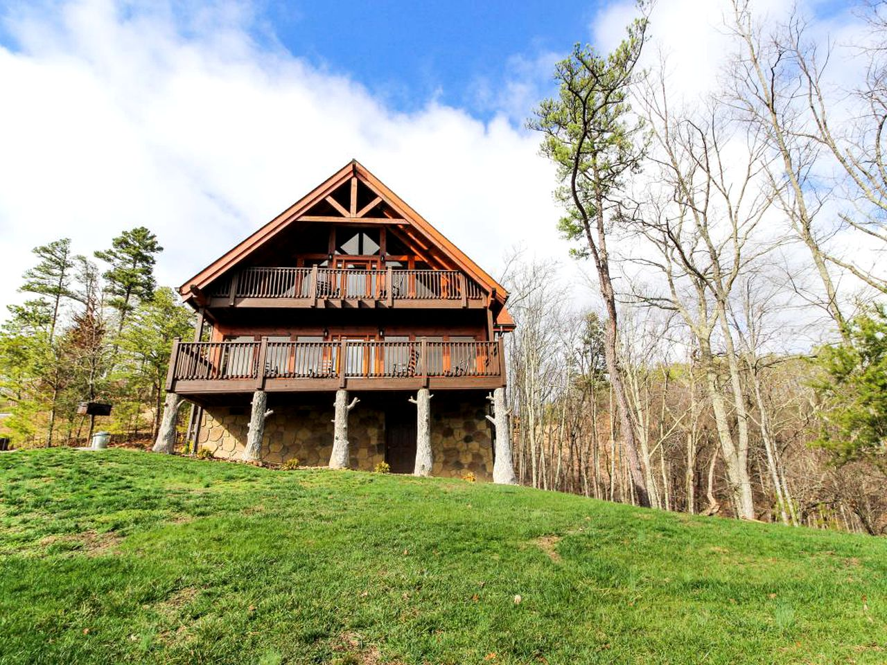 Family-friendly cabins in Sevierville, Tennessee
