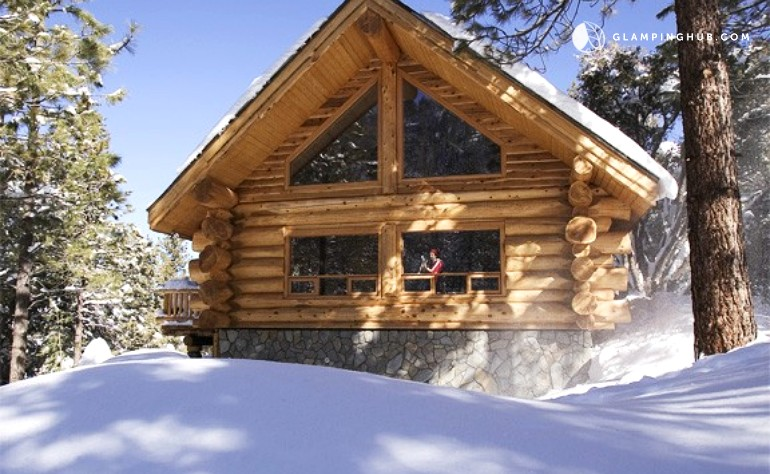 Pet friendly log cabin getaway near los angeles for Cabins near los angeles