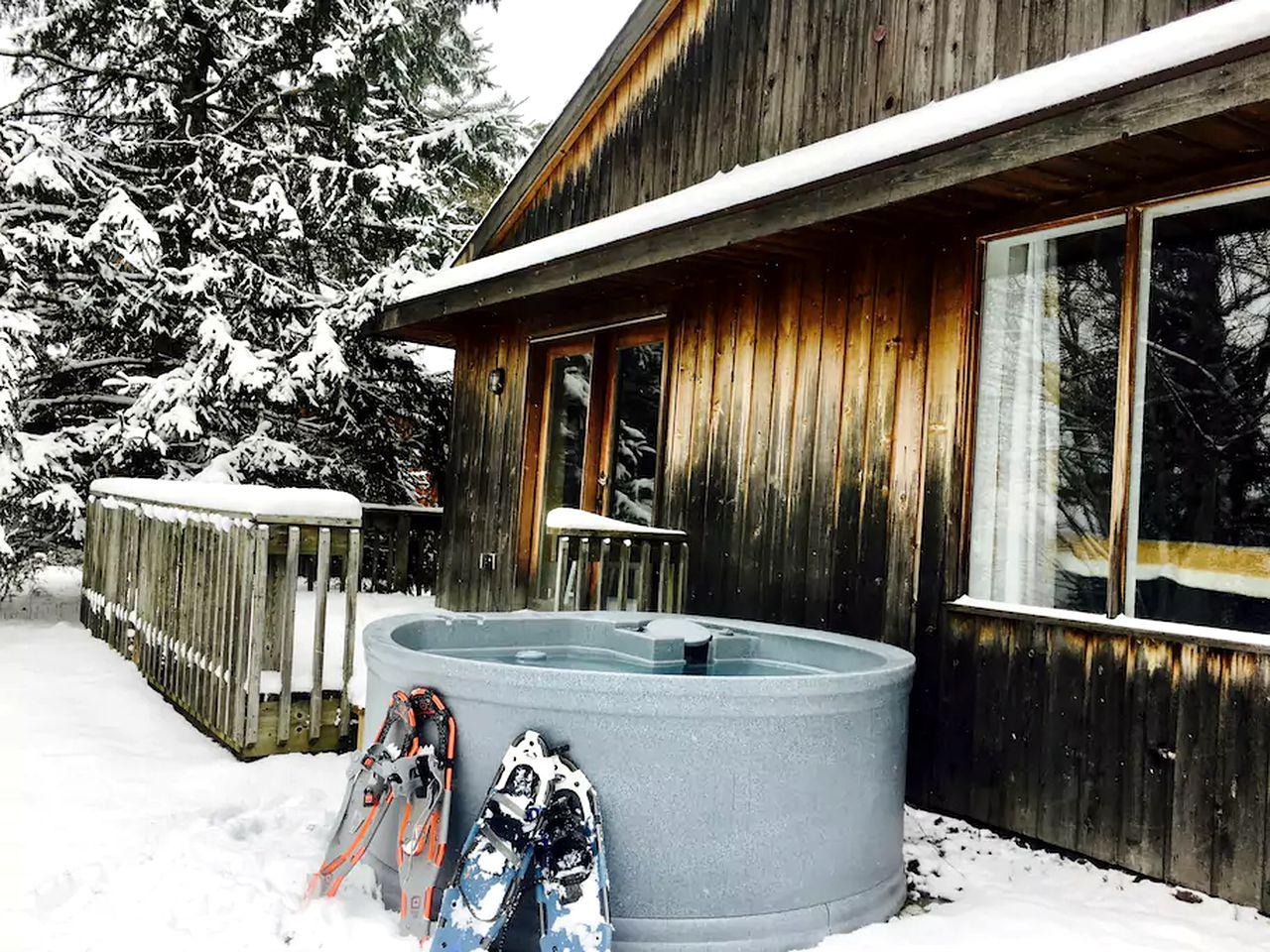 Cabin Rental on Lake Bernard, Ontario