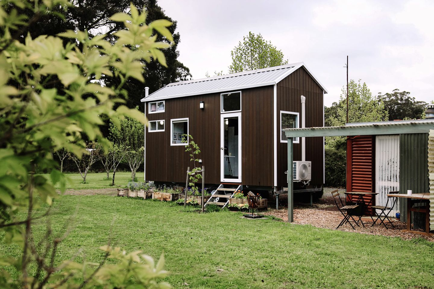 Tiny home for glamping in Victoria