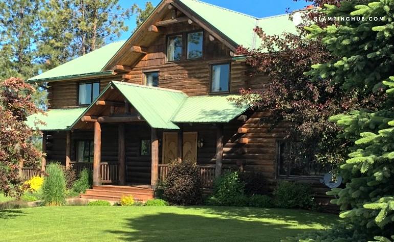 Cabin rental near glacier national park montana for Glacier national park cabin rentals