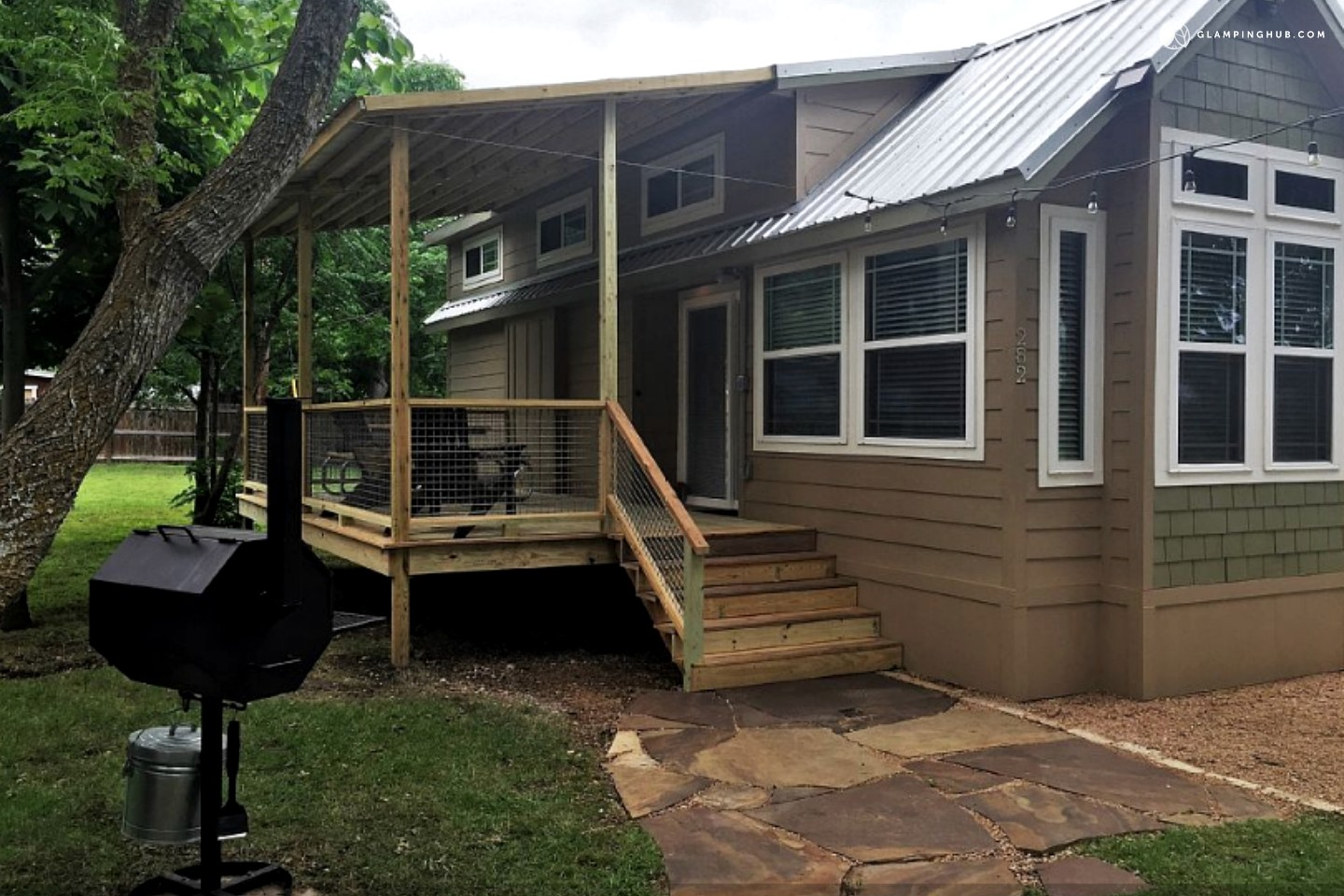Tiny House for Rent by the San Marcos River near Austin Texas