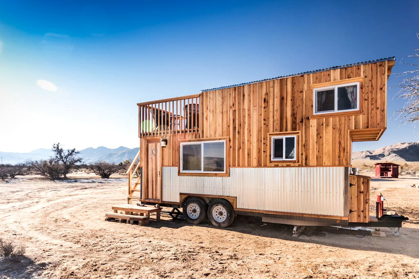 Tiny house rental on a dude ranch in Nevada.