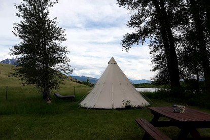 Luxury Camping near Yellowstone, Montana | Glamping Hub