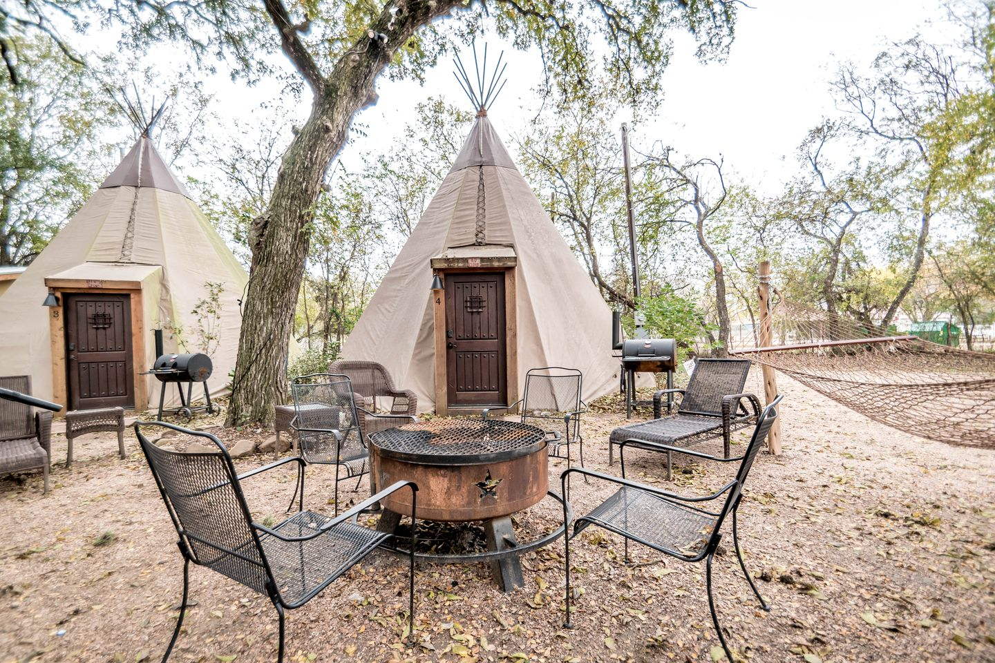 Sleep in a Teepee rental (New Braunfels, Texas, United States)