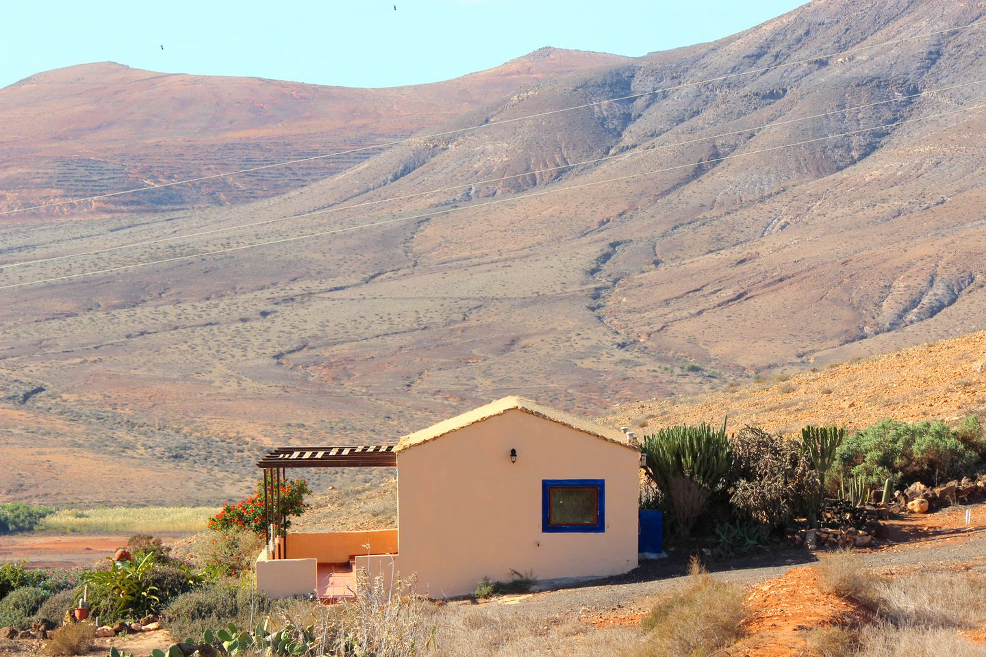 Cottages (Fuerteventura, Canary Islands, Spain)