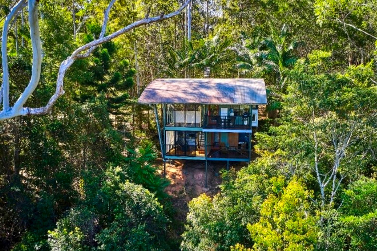 Gorgeous Uki accommodation for a NSW romantic getaway