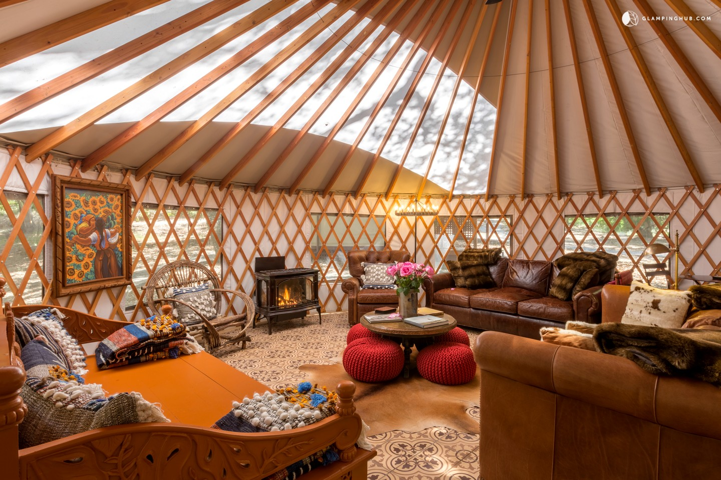 Yurt Rental Near San Luis Obispo