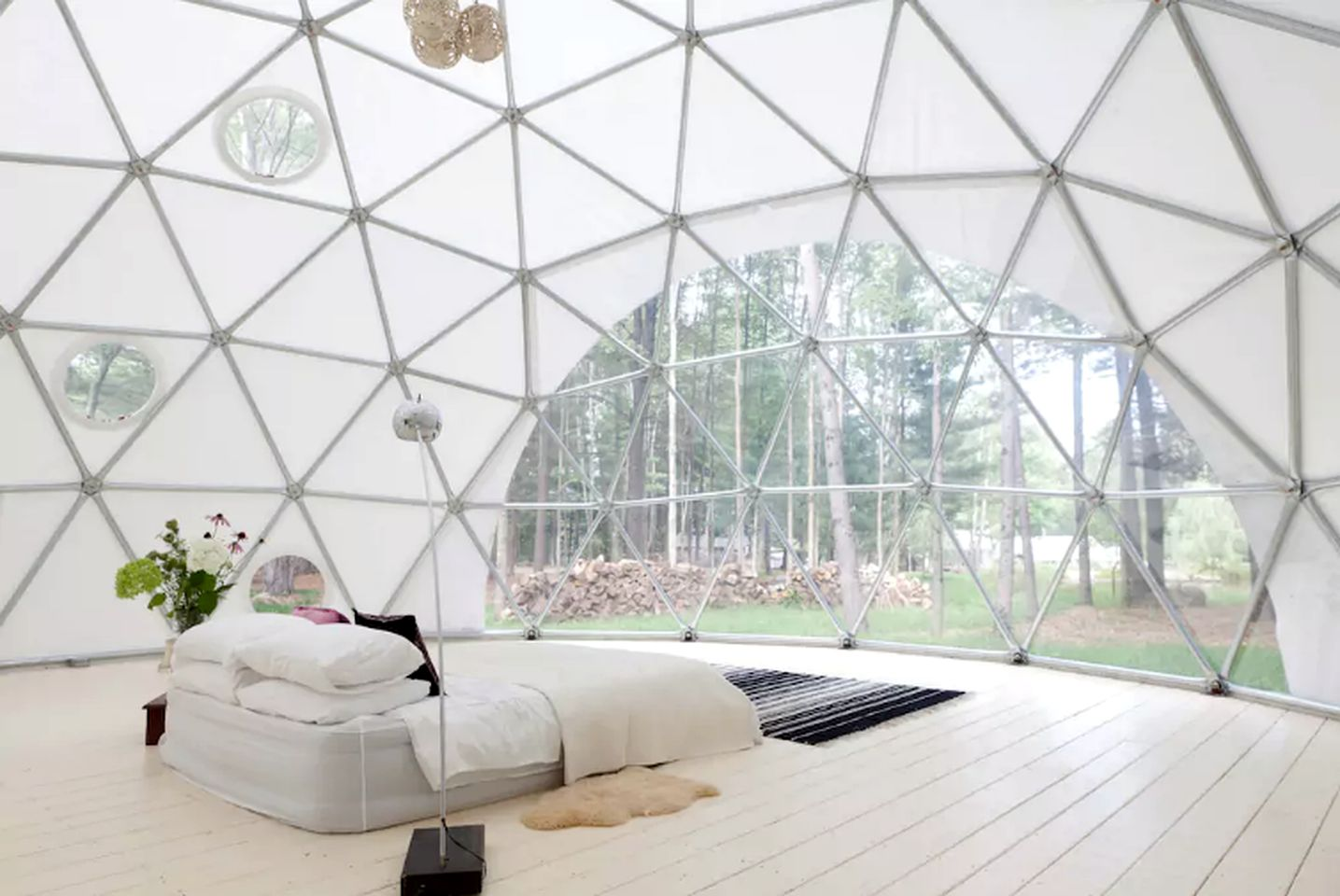 Large group dome rental in the Catskill Mountains