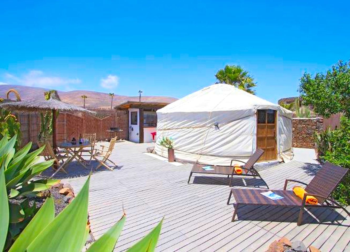 Yurts (Arrecife, Canary Islands, Spain)