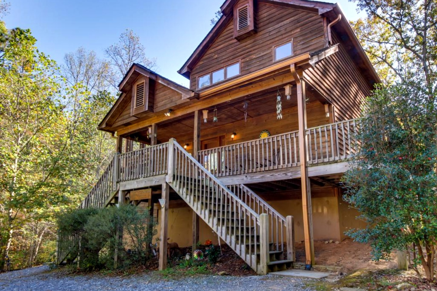 unique getaway near chattahoochee national forest in north