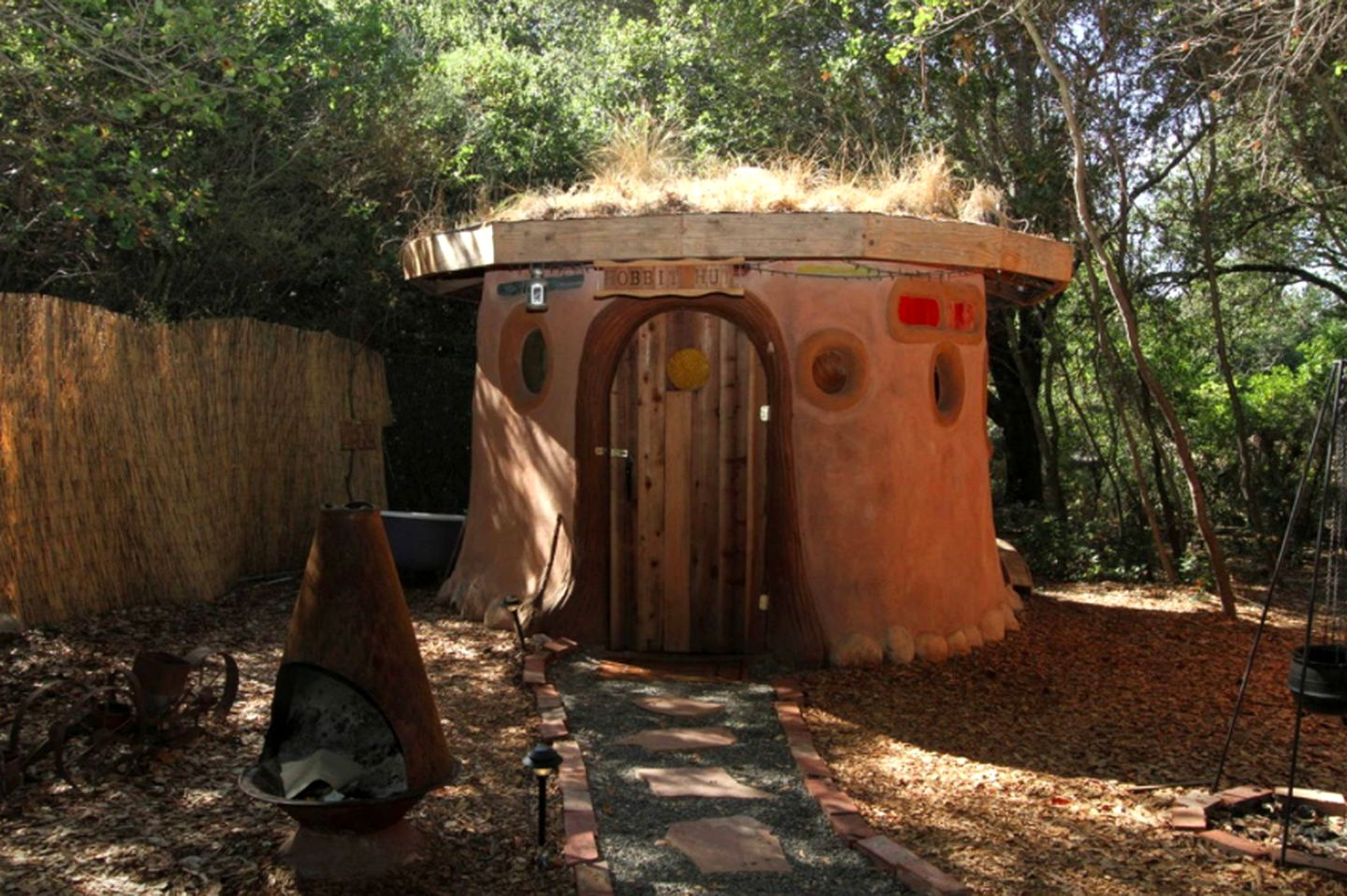 The unique hobbit hut accommodation for getaways near San Francisco