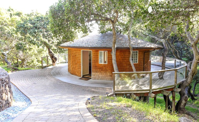 luxury cabin rental in the bay area