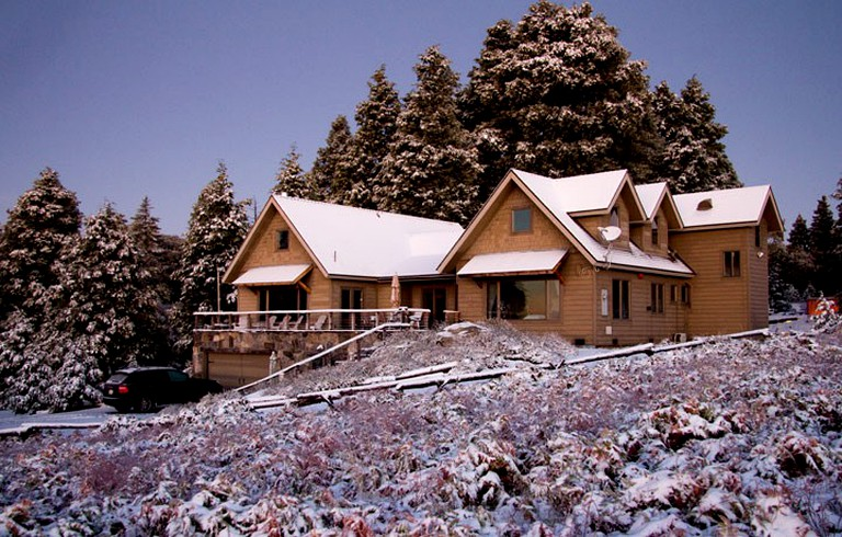 Retreat Lodge Rental With A Hot Tub Next To Palomar Mountain California