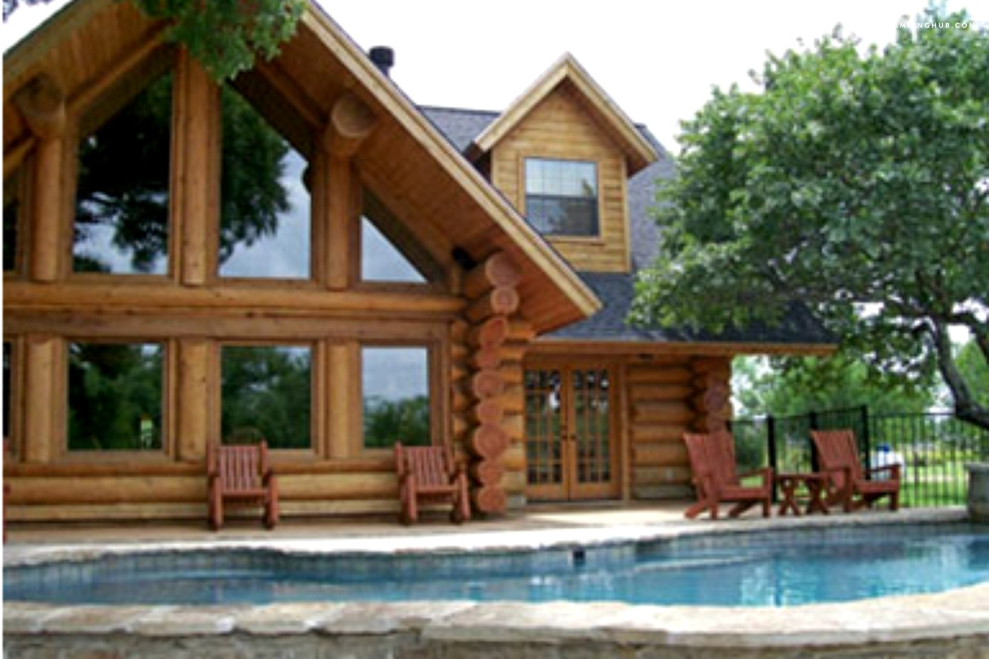 Luxury cabin rental in texas hill country for Texas hill country cabin builders