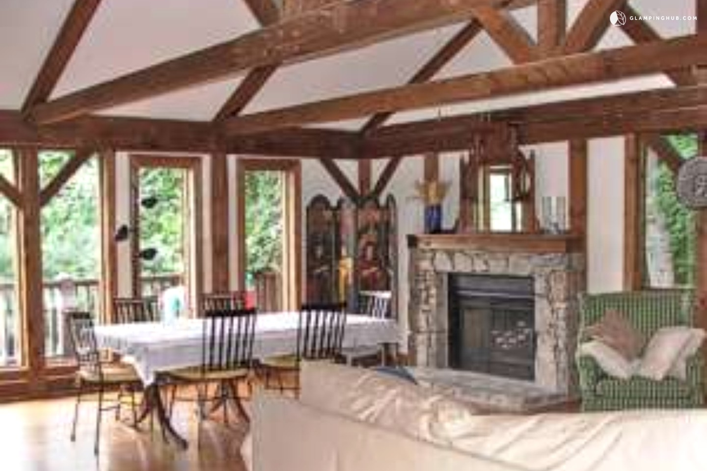 Family vacation rental in asheville north carolina for Asheville cabin rentals pet friendly